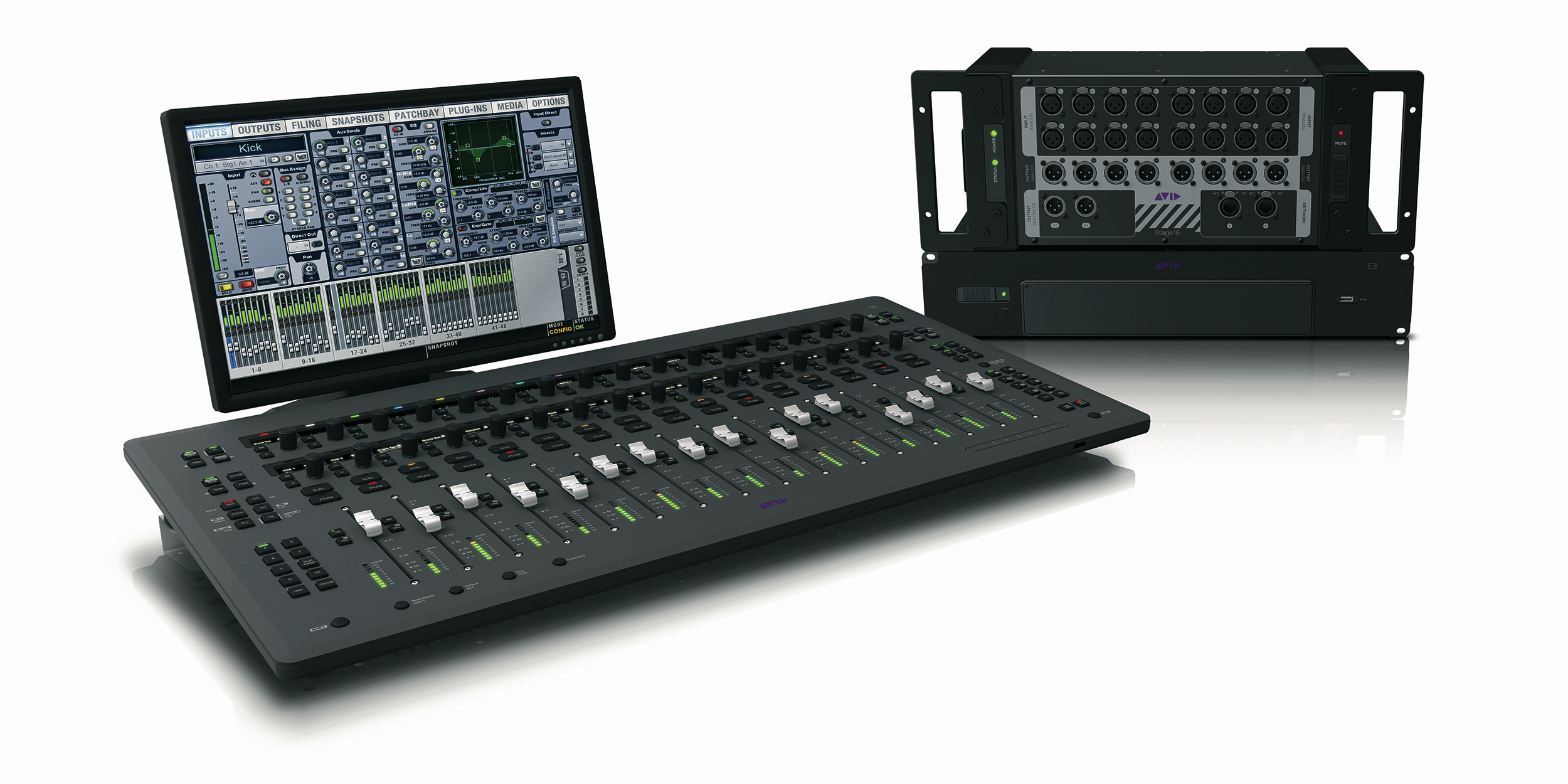 "Avid ""Opens Up"" With S3L Mix System"